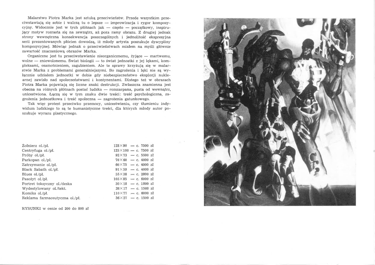 DESA wystawa, katalog