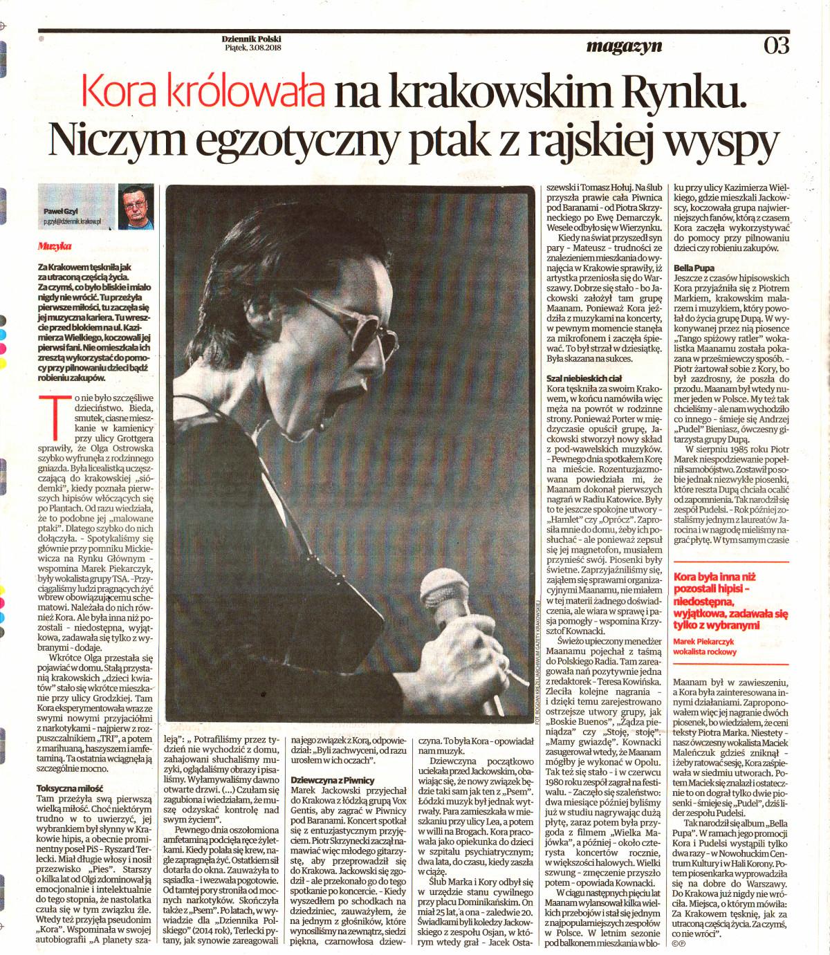 Autor: Paweł Gzyl Gazeta Krakowska MAGAZYN 2015-07-17